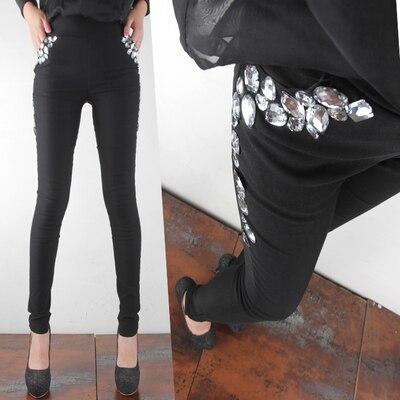 Leggings Women Plus Size Clothing 3xl 4xl 2017 Autumn Winter Trousers Lined Fleece Slim Fit High Waist Legging Pants Xxl Warm Xl