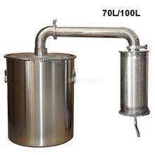 70L/100L Нержавеющая Сталь Вино пивоварения машина дистиллятор ликер дистилляции домашнее оборудование для производства вина+ водяной насос