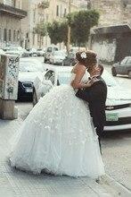 Floor length muslim wedding dress gowns white ivory appliques 2016 font b Hijab b font Ball