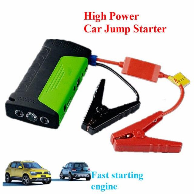 High Capacity 9000mAh 12V Car Jump Starter Multi-Function 400A Peak Car Battery Charger 2USB Power Bank SOS Lights Free Ship