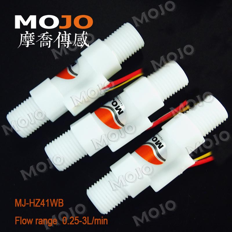 2019 MJ HZ41WB FDA G1 4 male out tread POM food material flow water sensor high