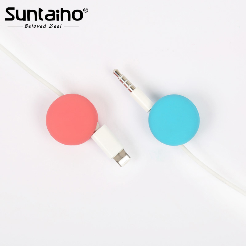 Suntaiho for wires storage cable organizer 4Set for phone cable ...