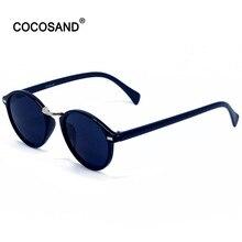 COCOSAND2017Vintage Retro Occhiali Da Sole cat eye sunglasses MEN Nero Per Gli Uomini Nuovi Occhiali Da Sole di Marca Oculos