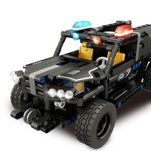 Image 2 - Technic RC Car Building Blocks Remote Control Race Model SUV Technology Build Modular DIY Bricks Toys For Kids