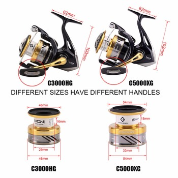 Best 1 SHIMANO NASCI Spinning Fishing Reel Fishing Reels cb5feb1b7314637725a2e7: 1000|2500|4000|4000XG|C3000|C3000HG|C5000XG