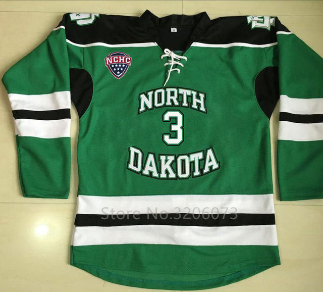 3 Tucker Poolman North Dakota Fighting Sioux University Hockey Jersey  Embroidery Stitched Customize any number a85985ea106