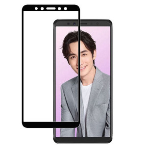 "Image 2 - 2 sztuk dla Lenovo K5 Pro 5.99 ""L38041 K5pro 2018 szklany ekran Protector pełna pokrywa szkło hartowane ochronne 9H 2.5D szklana folia"