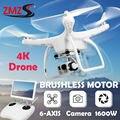 Cena de motor sin escobillas drone localización gps fhd versión hd 4 k 1600 w cámara drone quadrocopter 2.7 k 1300 w cámara helicóptero toys
