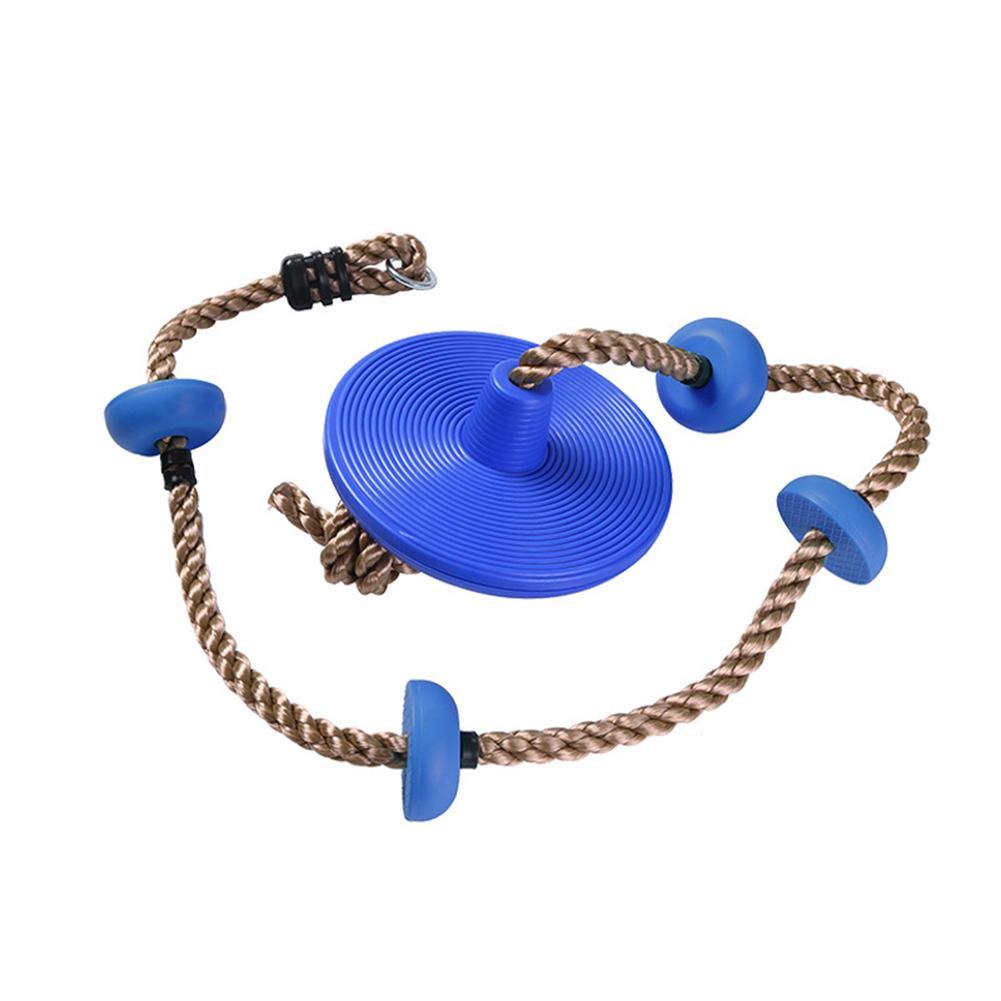 Balançoire pour enfants avec plate-forme corde d'escalade corde d'escalade balançoire extérieure balançoire accessoires