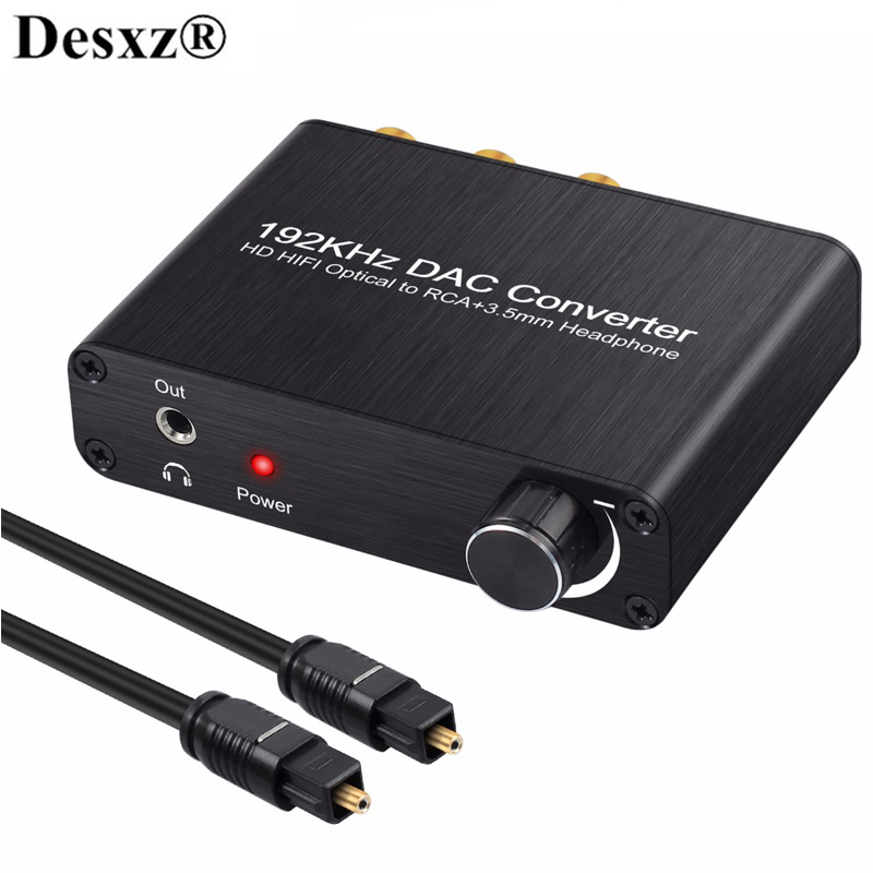 DAC Converter Digital Audio DTS AC-3 to 5.1 CH Analog Decoder Optical Fiber SPDIF Coaxial to RCA 3.5mm Jack Converter Adapter doitop dolby dts ac 3 optical to 5 1 channel rca analog converter stereo dac digital 5 1 audio gear decoder sound spdif decoder