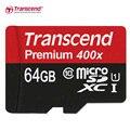 Оригинальные Transcend MicroSD MicroSDHC 16 ГБ 32 ГБ MicroSDXC 64 ГБ 128 ГБ SDXC Карты Class 10 UHS-1 TF Карты памяти
