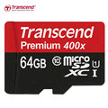 Genuine Original Transcend MicroSD MicroSDHC 16GB 32GB MicroSDXC 64GB 128GB SDXC Card Class 10 UHS-1 TF Memory Card