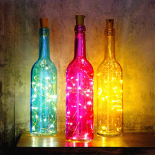 8 Modes Wine Bottle Twinkle Lights with Cork Decorative LED Wire Glass Jar Fairy String LED Lights for Party Wedding Decor