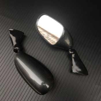 Carbon Black Rear View Mirrors For Suzuki Katana GSX600F GSX750F GSX 600F/750F 1998-2002 1999 2000 2001 New