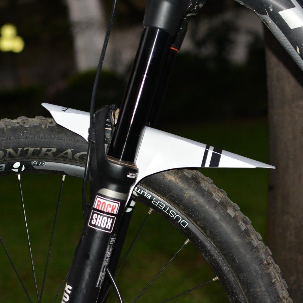 Neue Fahrrad MTB Fender Kotflügel Geeignet für Gabel/Hinten Sattel Schnellverschluss Plattic