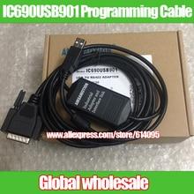 1 шт. IC690USB901 Кабель для программирования GE Fanuc SNP GE90-70/90-30 серии PLC/связь/кабель для загрузки IC690USB90