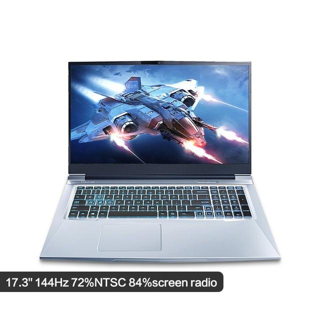 "Gaming Laptop MAIBENBEN X9 Plus/17.3"" i7-9750H/8G RAM/PCI-E 512G/NVIDIA GTX1050 Graphic Card/DOS/Black Game Flash Light Notebook 1"