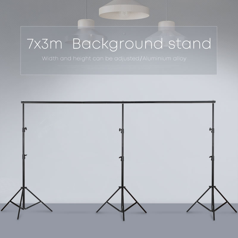 Photography Studio Heavy Duty 3mx7m/10ftx23ft Photo Studio Backdrop Background Support Stand Kit punk style floral hollow out cuff ring for women