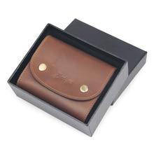 Здесь можно купить   Badiya Brand Short Men Wallets Genuine Leather Mini Clutch Wallet Purse with Gift Box Money Bag Cowhide Card Holders Male Brown Wallets & Holders
