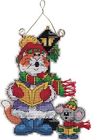 Top Quality Lovely Counted Cross Stitch Kit Kitten Cat and ...