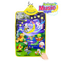 67x40CM Baby Toys Soft Musical Children's Mat with Animal Sounds ECC Play Mat Moonlight Carpet Kids Rug Puzzle Toys for Children