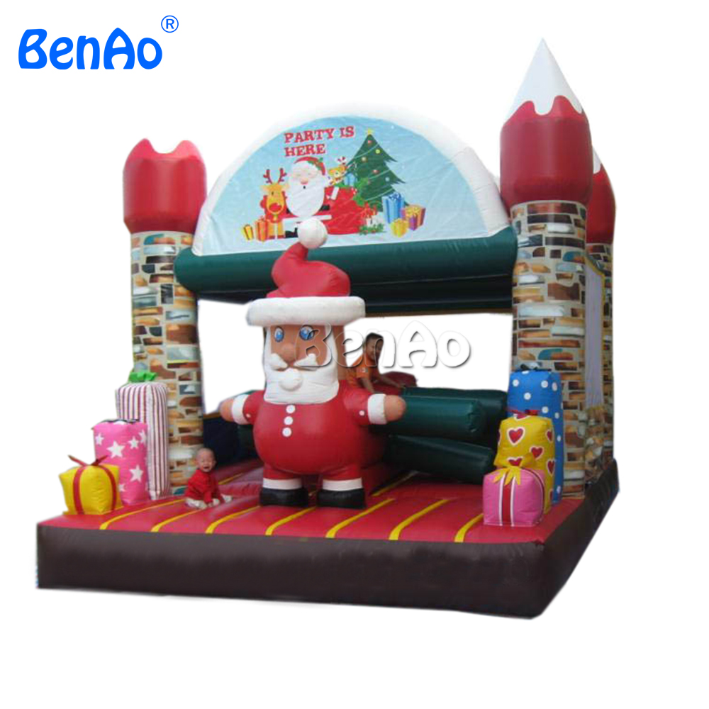 X020 Inflatable christmas bouncer house for kids, China jumping castle +blower for sale утро 50 завтраков