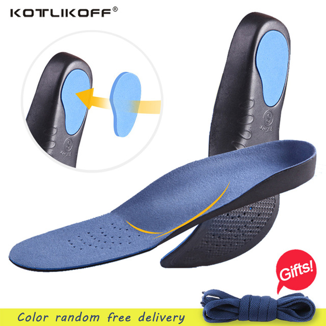 Adult Orthotic insoles Breathable 3D Comfortable EVA insoles Flat Feet Arch Support insoles orthopedic Sweat-Absorbant insoles expfoot orthotic arch support shoe pad orthopedic insoles pu insoles for shoes breathable foot pads massage sport insole 045