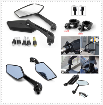 2pcs 8MM 10MM modified universal motorcycle rearview mirror for BMW HP2 SPORT K1200R K1200R SPORT K1200S K1300 S/R/GT image