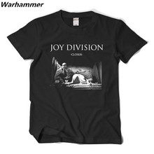 JOY DIVISION Rock mens T-shirts Näher JOY DIVISION punk musik shirts o-ansatz hip hop top EU größe baumwolle t shirts quick verschiffen