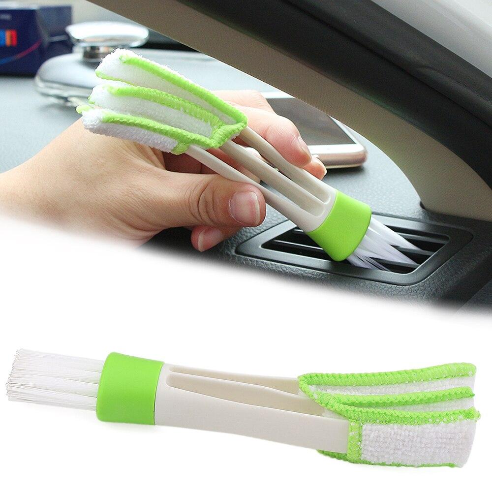 Car Wheel Washing Brush Tire Tools for Audi Q3 Q5 SQ5 Q7 A1 A3 A4 A4L A5 A6 A6L A7 A8 S5 S6 S7 I Ah Ah A6 A5 Q7 Car Care Color Name: 1PCS