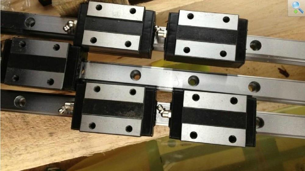 China Made high quality 2pcs HGR15-1000mm rail+4pcs HGH15CA narrow block bearingsChina Made high quality 2pcs HGR15-1000mm rail+4pcs HGH15CA narrow block bearings