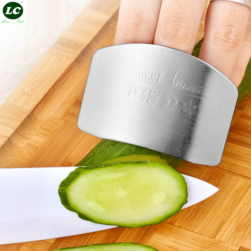 Stainless Steel Finger Hand Protector Kitchen Tool Protect finger tools LK