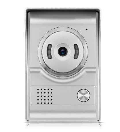 """XINSILU nowa przedmiot klawisz dotykowy kolorowy monitor lcd 4.3 """"wideodomofon wersja nocna domofon bezpieczeństwo w domu System wideo 1V1"""