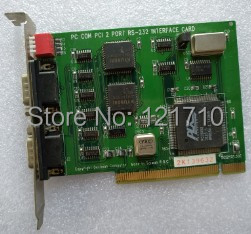 Inudstrial decision Computer DCI2K01130C PC COM PCI 2 PORT RS-232 INTERFACE CARD moxa cp 104ul v2 4 port rs 232 smart universal pci interface serial boards