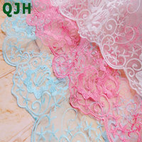 5yards Lot Embroidery Lace Fabric Mesh Cloth DIY Craft Wedding Dress Clothing Accessories 51 Width
