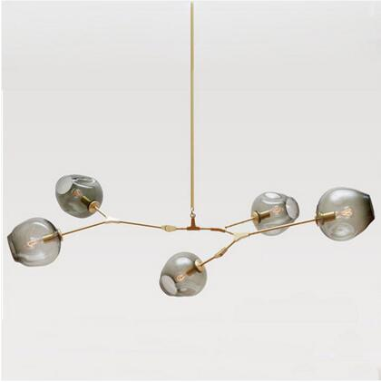 5 heads Nordic LED Vintage Pendant Lamp Glass Molecules Pendant Lights Bedroom Dining Room Bar Cafe Light Fixtures loft vintage edison glass light ceiling lamp cafe dining bar club aisle t300