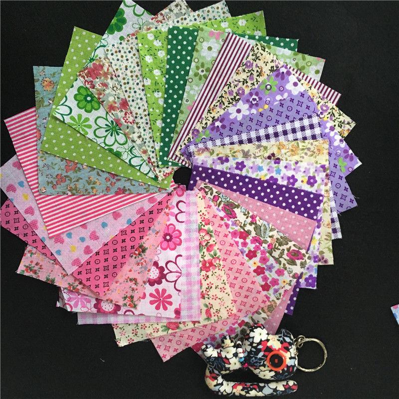 30PCs 25x25cm Cotton Fabric For Patchwork Fabrics Felt For Needlework Tissu Dolls DIY Materials for Sewing Random Mixed patchwork