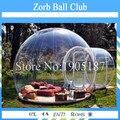 Бесплатная Доставка Открытый Отдых Купол Палатки, Надувные Прозрачный Купол Палатки, Выставка Шатер Пузыря