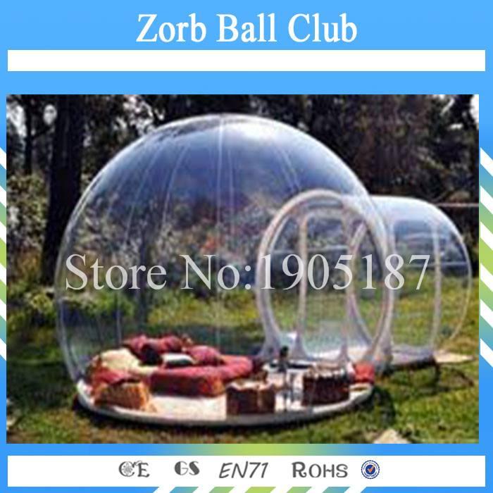Free Shipping Outdoor Camping Bubble Tent,Inflatable Clear Bubble Tent,Exhibition Bubble Tent