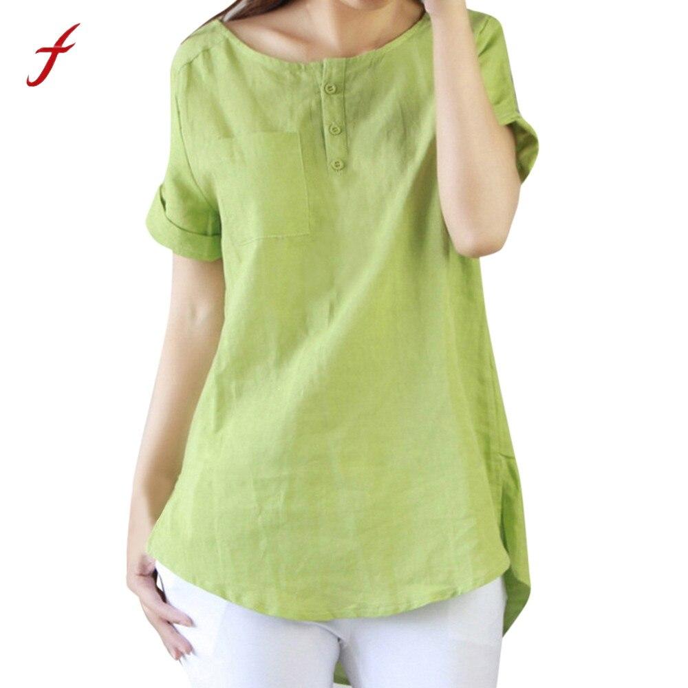 84ede643f5f76 Women summer casual short sleeve loose tshirt cotton linen tops shirts shirt  tumblr top women shirt