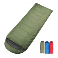 0 8KG 180 30 75cm Outdoor Adult Envelopes Type Camping Hiking Sleeping Bag 3 Season Leisure