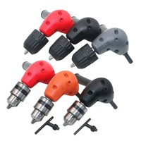 Electronic Drill Right Angle Bend Universal Chuck 90 Degree Angle Drill Impact Driver Tool Extension Accessories
