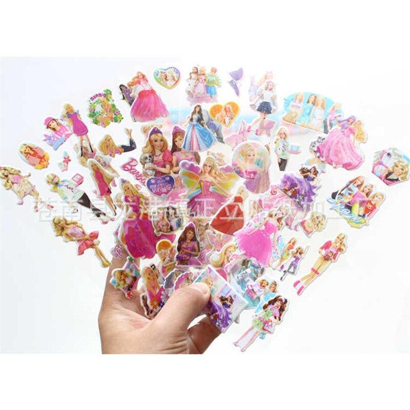 Sammeln & Seltenes Schneidig 10 Blätter 3d Puffy Blase Aufkleber Cartoon Prinzessin Katze Waterpoof Diy Baby Spielzeug Für Kinder Kinder Jungen Mädchen Aufkleber Set Emoji Klassische Spielzeug
