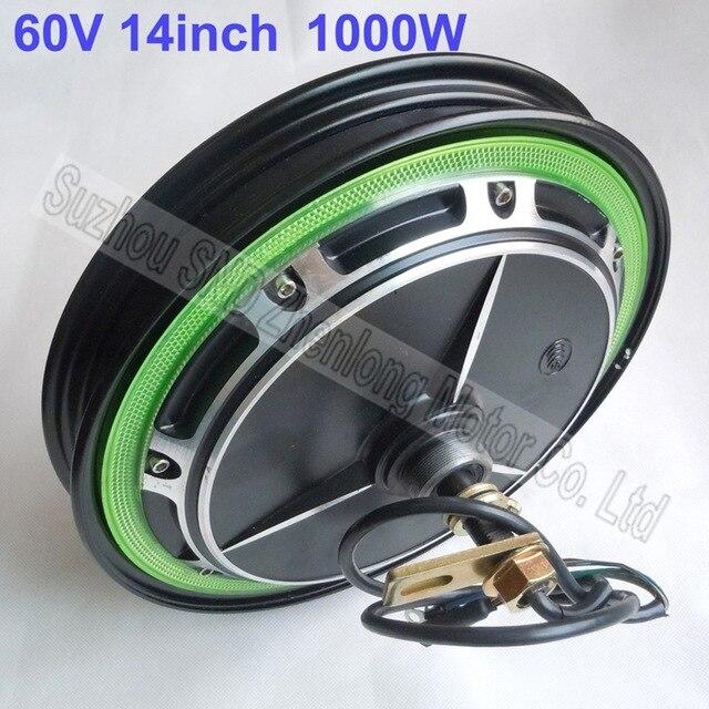 Customized 14 inch e-bike motor 48V 1000watt /high speed brushless DC bike motor diy parts G-M066