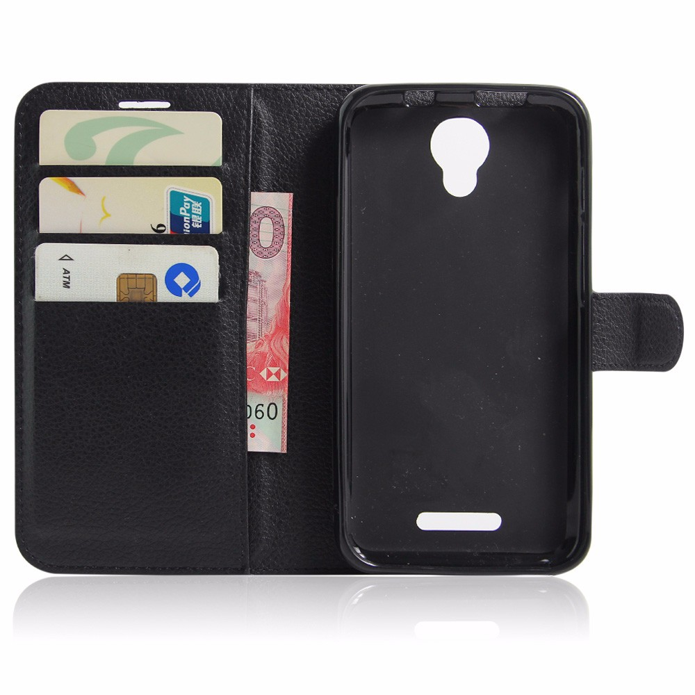 Luxury PU Leather Cover Case For Alcatel One Touch Pixi 4 5.0 OT 5010 5010D Case Flip Protective Phone Back Cover Bag Skin (4)