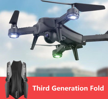 Grand WIFI FPV RC Pliable Drone 2.4G 4CH tenue d'assiette selfile voyage RC Quadcopter Avec Grand-Angle 720 P Caméra vs X8G X5UW
