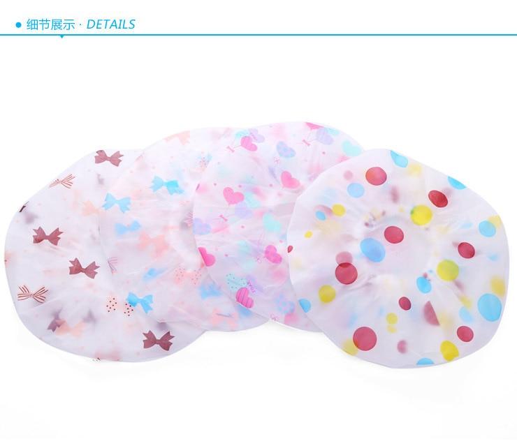 Bath Women Waterproof Shower Bath Cap Hat With Bear Bowknot Balloon Cherry Design For Adult D5 Beauty & Health