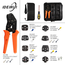 Crimping pliers SN-48B 8 Jaw For Plug/Tube/Insulated/Non Insulated Terminals Kit Bag Clamp Brand Tools 1 piece vh5 16x crimping pliers for non insulated terminals