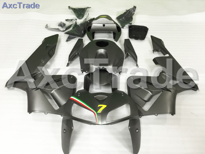 Motorcycle Fairings Kits For Honda CBR600RR CBR600 CBR 600 RR 2005 2006 F5 ABS Plastic Injection Fairing Kit Bodywork Black A601 for honda cbr600rr 2007 2008 2009 2010 2011 2012 motorbike seat cover cbr 600 rr motorcycle red fairing rear sear cowl cover