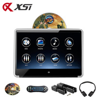 XST 11.6 Inch Car Headrest IPS Screen Monitor DVD Player HD 1080P Video Touch Screen Support HDMI/USB/SD/Game/IR/FM Transmitter